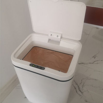 China 12L Induction Type Household Rubbish Bin Anti Finger Oil With Quiet Close Lid supplier